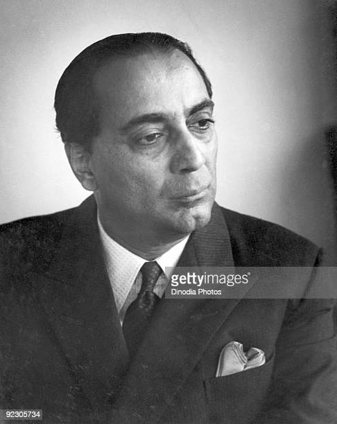 Physicist Dr Homi Jehangir Bhabha India circa 1950 He was largely responsible for the development of India's atomic energy programme