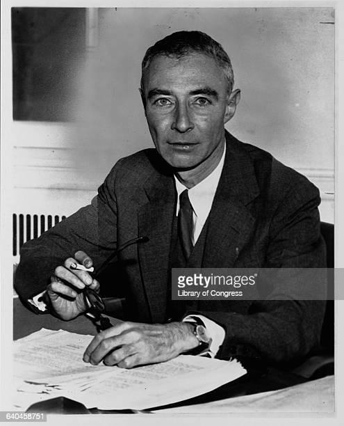Physicist J Robert Oppenheimer