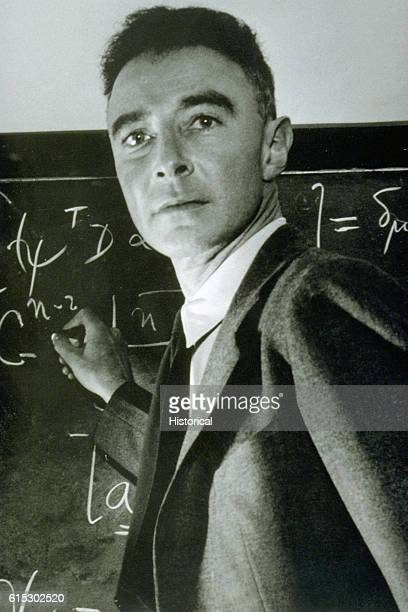 Physicist J Robert Oppenheimer Teaching