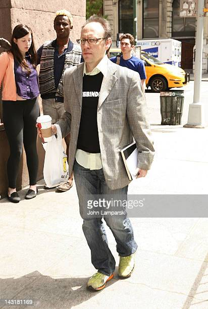 Physicist Lawrence Krauss attends a memorial for Christopher Hitchens at NYU Cooper Union Great Hall on April 20 2012 in New York City