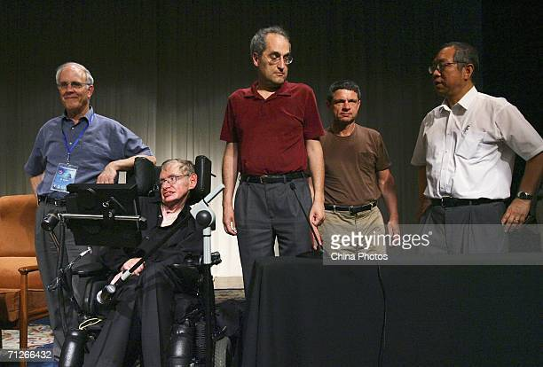 US physicists Andrew Strominger David Gross EWitten Chinese mathematician ShingTung Yau a professor at Harvard University and British scientist...