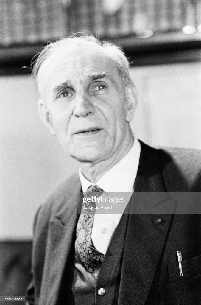1966 Physics Nobel Prize Winner Alfred Kastler : News Photo