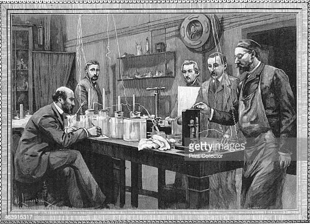 Physics research laboratory at the Sorbonne Paris 1895