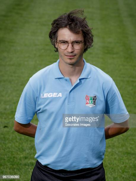 Physio Jos Smits during the Photocall NEC Nijmegen at the Goffert Stadium on July 11, 2018 in Nijmegen Netherlands