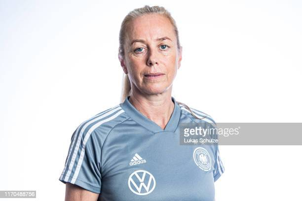 Physiotherapist Claudia Ziebell poses on August 27 2019 in Tilburg Netherlands