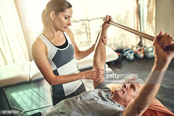 Physiotherapy can help restore fitness in seniors