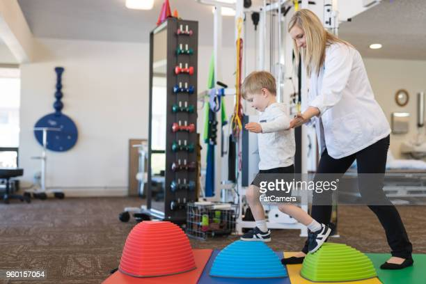 physiotherapy clinic - physical therapy stock pictures, royalty-free photos & images