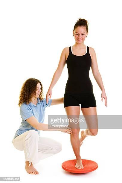 Physiotherapie junge Frau