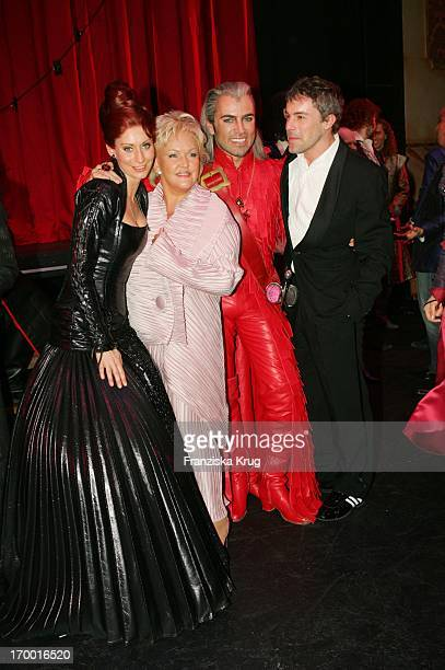Pia Douwes Angelika Milster Uwe Kröger Gedeon Burkhard at the Premiere Of Musicals The 3 Musketeersat Theater des Westens in Berlin