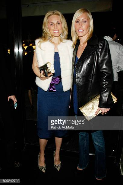 Pia Getty and Alexandra von Furstenberg attend DAMIEN HIRST SUPERSTITION Private Dinner at Mr Chow on February 22 2007 in Beverly Hills CA