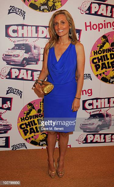 Pia Getty attends a benefit evening for The Hoping Foundation on July 10 2010 in London England