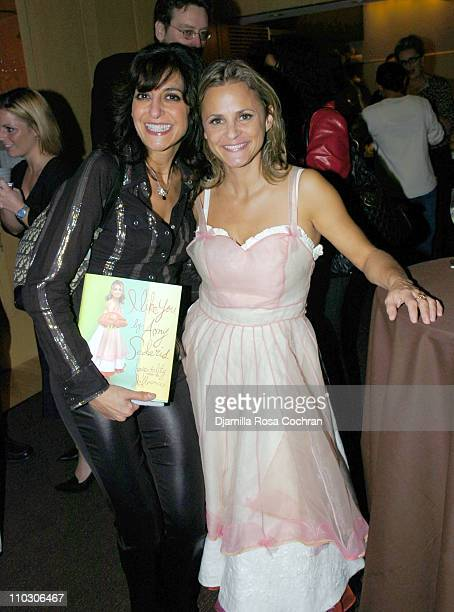Pia Guccione and Amy Sedaris during Bon Appetit and Warner Books Host a Party for Amy Sedaris' New Book I Like You at Dining Room at 4 Times Sq 4th...