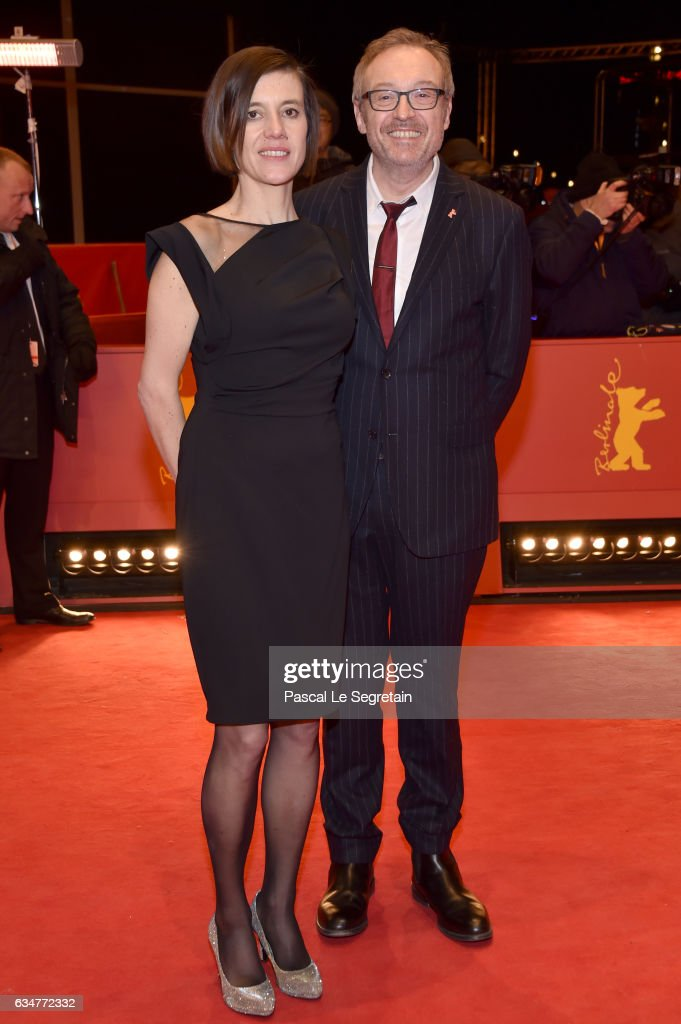 Pia Hierzegger and Josef Hader attend the 'Wild Mouse' (Wilde Maus) premiere during the 67th Berlinale International Film Festival Berlin at Berlinale Palace on February 11, 2017 in Berlin, Germany.