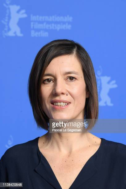 Pia Hierzegger poses at the The Ground Beneath My Feet photocall during the 69th Berlinale International Film Festival Berlin at Grand Hyatt Hotel on...