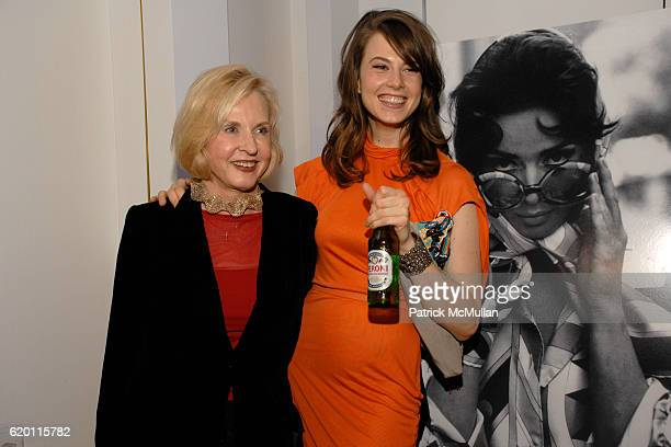 """Pia Lindstrom and Elettra Rossellini Weidemann attend VOGUE ITALIA and MEN'S VOGUE with PERONI host """"50 Years of Italian Style"""" Photo Exhibition at..."""