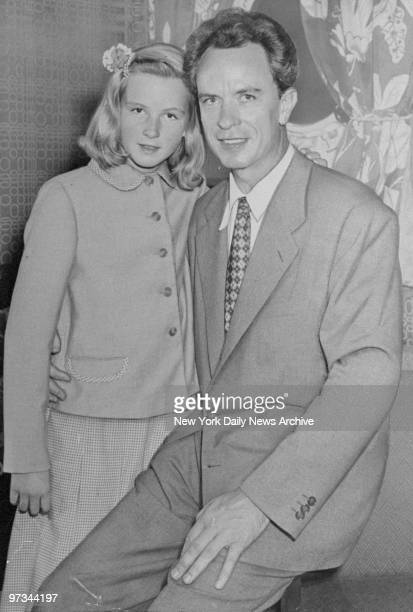 Pia Lindstrom and her father Dr. Peter Lindstrom.
