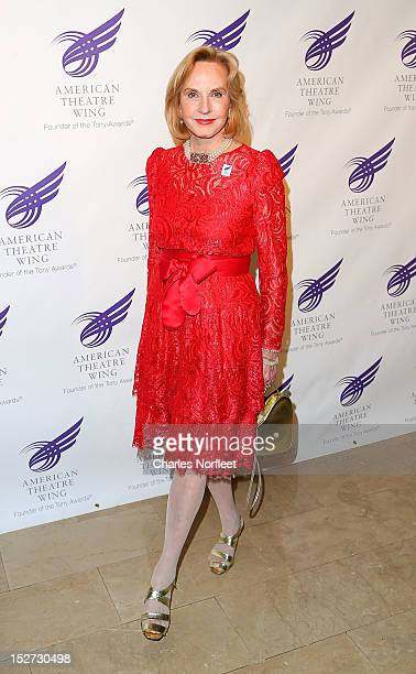 Pia Lindstrom attends the 2012 American Theatre Wing Gala at The Plaza Hotel on September 24, 2012 in New York City.