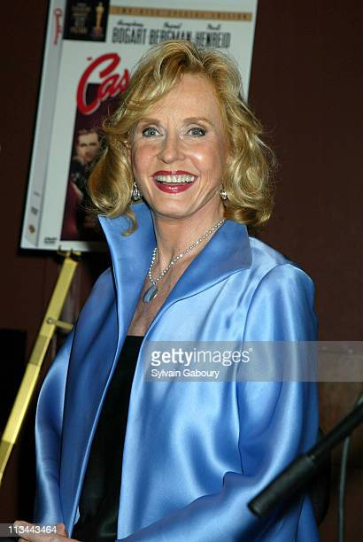 """Pia Lindstrom during 60th Anniversary of """"Casablanca"""" at Alice Tully Hall, Lincoln Center in New York, New York, United States."""