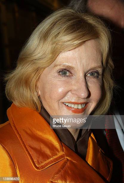 """Pia Lindstrom poses at the Opening Night of """"Bloody Bloody Andrew Jackson"""" on Broadway at The Bernard B. Jacobs Theatre on October 13, 2010 in New..."""