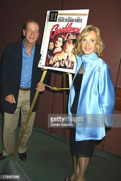 """Pia Lindstrom, Stephen Bogart during 60th Anniversary of """"Casablanca"""" at Alice Tully Hall, Lincoln Center in New York, New York, United States."""