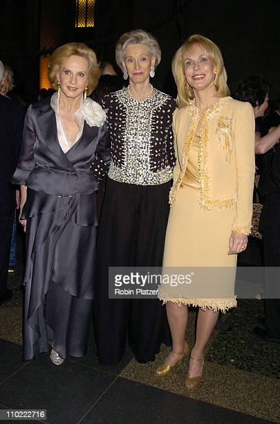 Pia Lindstrom, Virginia S. Mailman and Nancy Collins