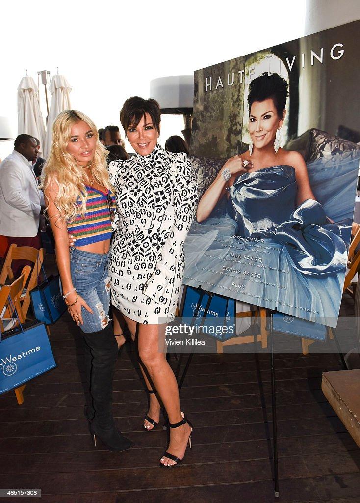 Westime Celebrates Kris Jenner's Haute Living Cover : News Photo