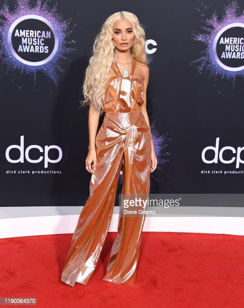 Pia Mia arrives at the 2019 American Music Awards at Microsoft Theater on November 24 2019 in Los Angeles California