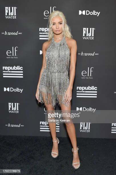 Pia Mia attends FIJI Water At Republic Records 2020 Grammy After Party on January 26 2020 in West Hollywood California