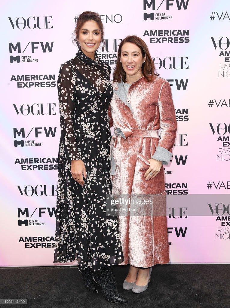 Vogue American Express Fashion's Night Out - Melbourne : Nachrichtenfoto