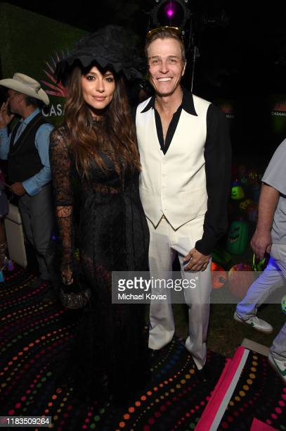 Pia Miller and Patrick Whitesell attend the 2019 Casamigos Halloween Party on October 25 2019 at a private residence in Beverly Hills California