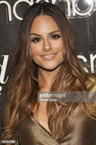 Pia Toscano arrives at Smashbox Studios Grand ReOpening Party at Smashbox Studios on February 5 2015 in Culver City California