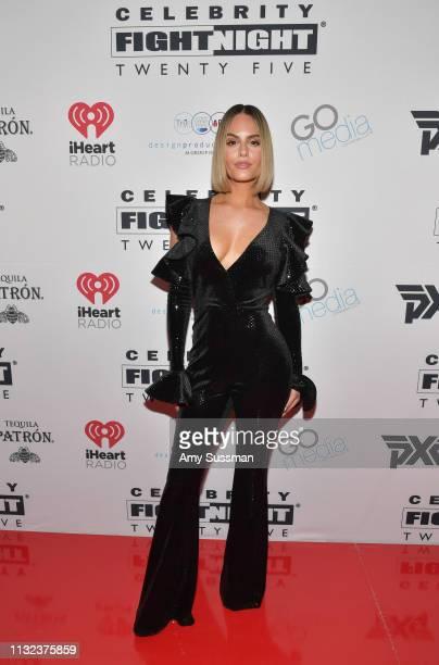 Pia Toscano attends Celebrity Fight Night XXV on March 23 2019 in Phoenix Arizona