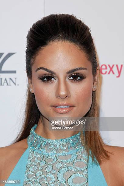 Pia Toscano attends OK Magazine's PreOscar event at The Argyle on February 19 2015 in Hollywood California