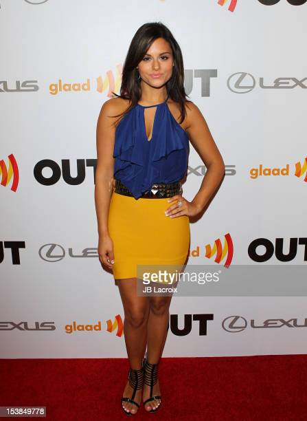 Pia Toscano attends OUT Celebrates 20th Anniversary Gala Presented By Lexus at Station Hollywood at W Hollywood Hotel on October 9 2012 in Hollywood...