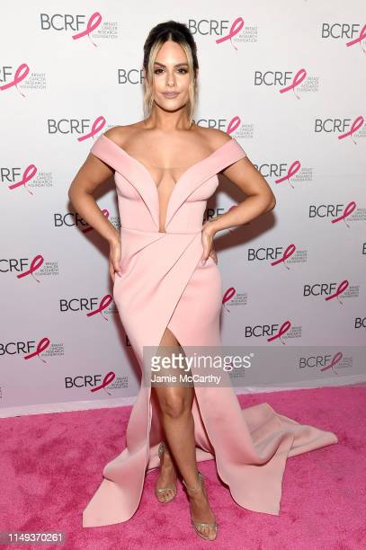 Pia Toscano attends the Hot Pink Party hosted by the Breast Cancer Research Foundation at Park Avenue Armory on May 15 2019 in New York City