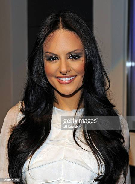 Pia Toscano attends the IceLink Flagship Store Opening at IceLink Boutique on January 11 2012 in Los Angeles California