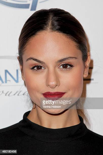 Pia Toscano attends the 'Power of Giving' Holiday benefit for the Ryan Nece Foundation and Mattel Children's Hospital UCLA at Riva Bella on December...