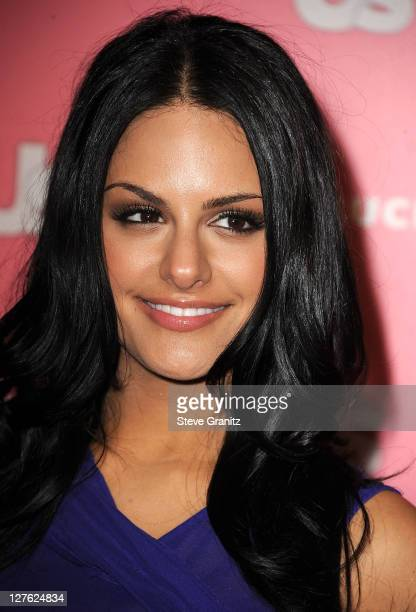 Pia Toscano attends the Us Weekly Hot Hollywood Party at Eden on April 26 2011 in Hollywood California