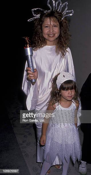 Pia Zadora and Kady Riklis during 1989 Los Angeles Children's Museum Gala Benefit at Los Angeles Children's Museum in Los Angeles California United...