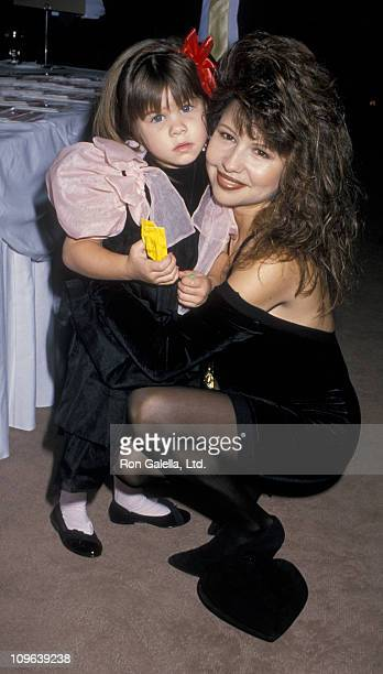 Pia Zadora and Kady Riklis during 3rd Annual Love Match Benefit Auction November 11 1988 at Beverly Wilshire Hotel in Beverly Hills California United...