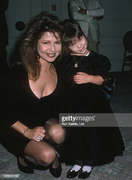 Pia Zadora and Kady Riklis during Maple Center Honors Charles and Ava Fries at Beverly Hilton Hotel in Beverly Hills California United States