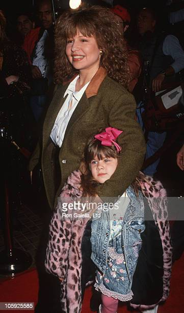 Pia Zadora and Kady Riklis during Premiere of Stella at Avco Cinema in Hollywood California United States