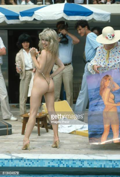 Pia Zadora attends a photocall promoting her film 'Butterfly' during the Cannes Film Festival circa May 1982 in Cannes France