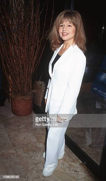 Pia Zadora during Crazy For You Cast Change Party August 16 1995 at Broadway Grill in New York City New York United States
