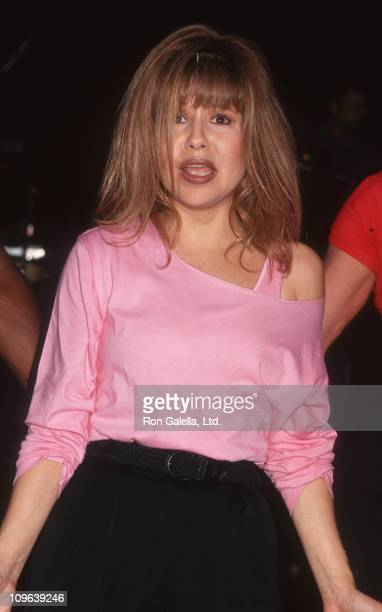 Pia Zadora during Dress Rehearsal for The New Pia Zadora Show July 19 1993 at The Supper Club in New York City New York United States