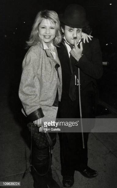 Pia Zadora during Pia Zadora Sighted at Chasen's Restaurant January 11 1983 at Chasen's Restaurant in Beverly Hills California United States