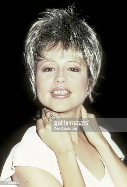 Pia Zadora during Pia Zadora Sighting at Spago August 3 1983 at Spago Restaurant in West Hollywood California United States