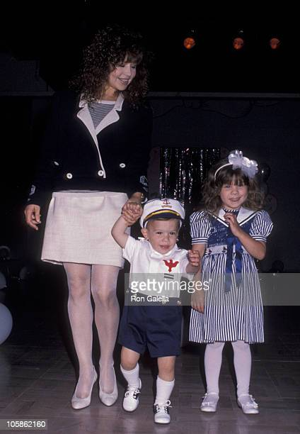 Pia Zadora Kristofer Zadora and Kady Zadora during 8th Annual Mother Daughter Fashion Show at Beverly Hilton Hotel in Beverly Hills CA United States