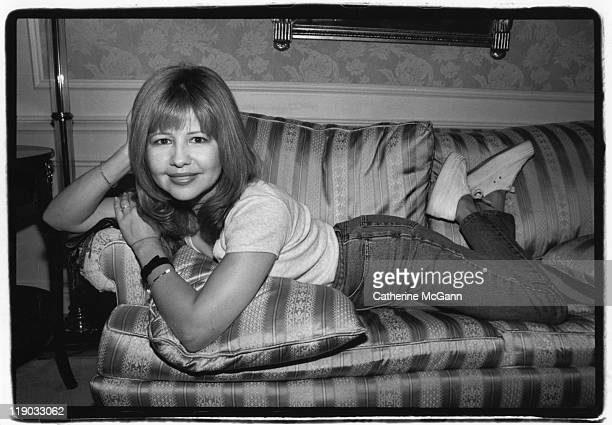 Pia Zadora poses for a portrait in 1995 in New York City New York