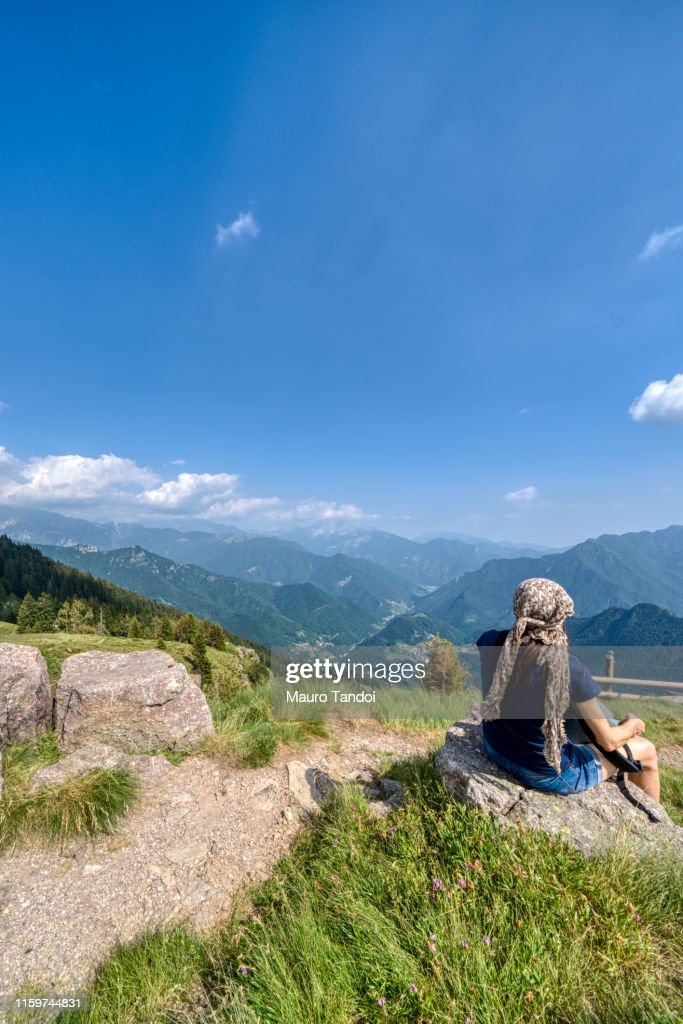Piani dell'Avaro (Avaro Plateau), Cusio, Bergamo, Italy : Stock Photo